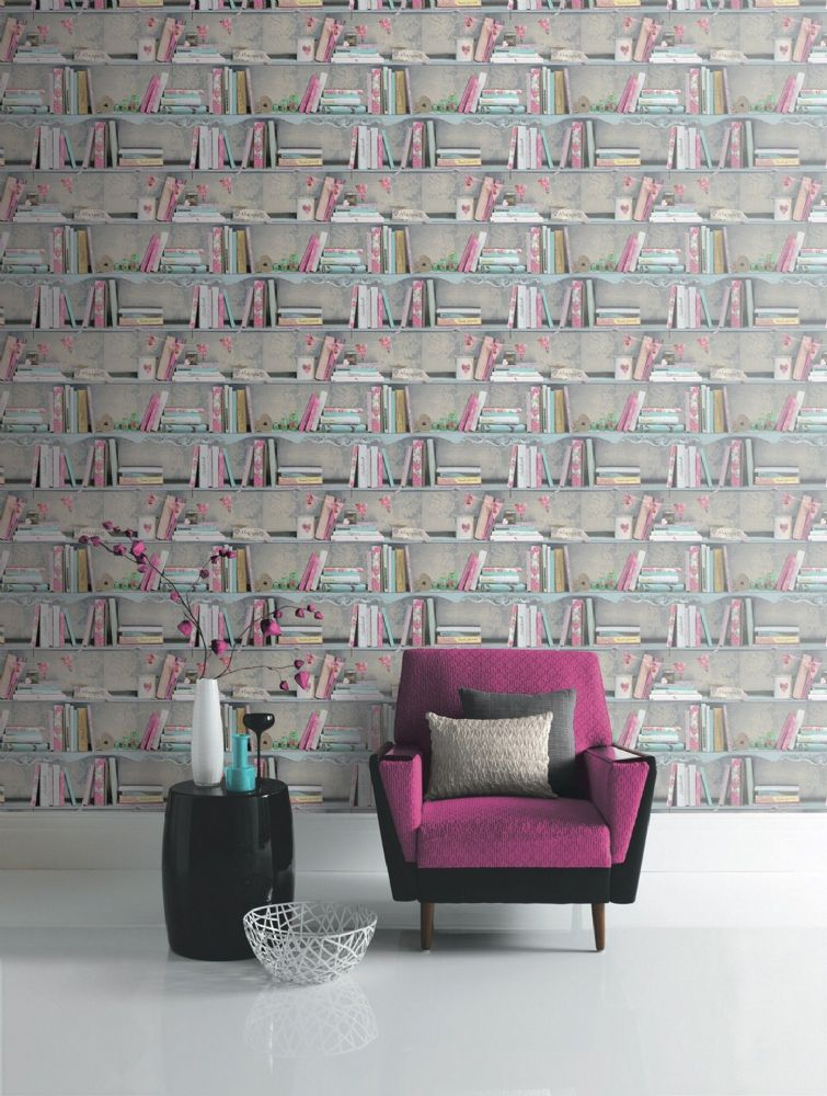 Arthouse Bookshelf 694000 Wallpaper